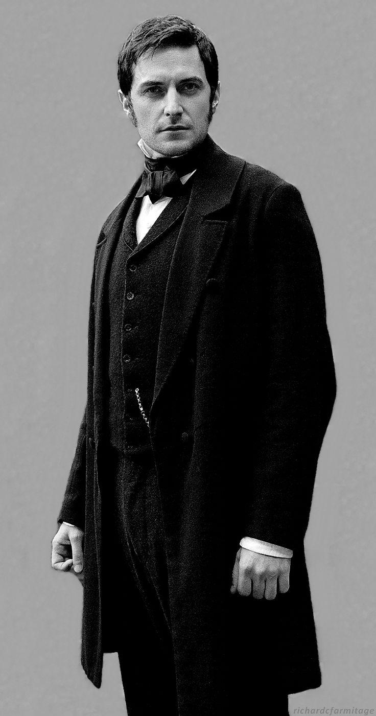 """Richard Armitage (Mr. John Thornton) en la mini-serie de 2004 """"Norte y sur"""" basada en la novela de Elizabeth Gaskell"""