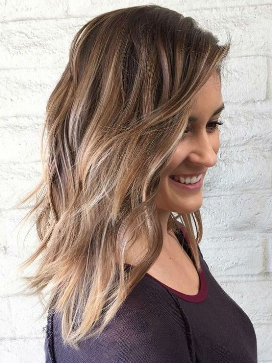 Top 20 Hottest Medium Length Hairstyles 2018 Hairstyles Color