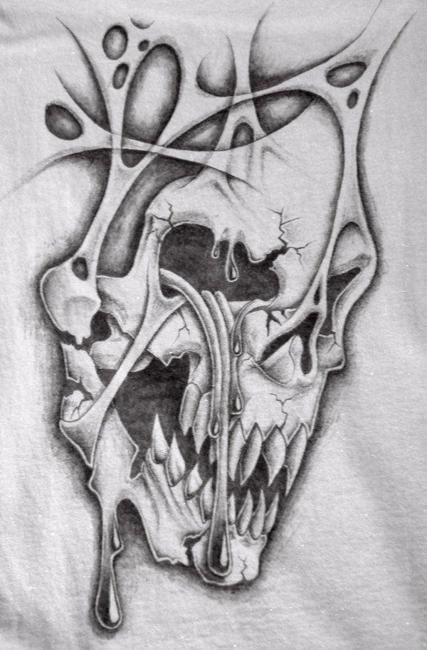 crying skull t shirt by markfellows.deviantart.com on @deviantART