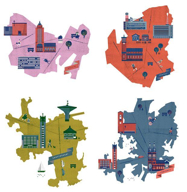 Lotta Nieminen Helsinki Maps