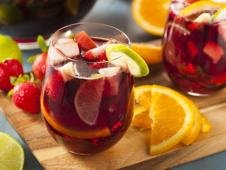 Sangria Tropicale • Tropical Sangria Drink   TROPICS Magazine