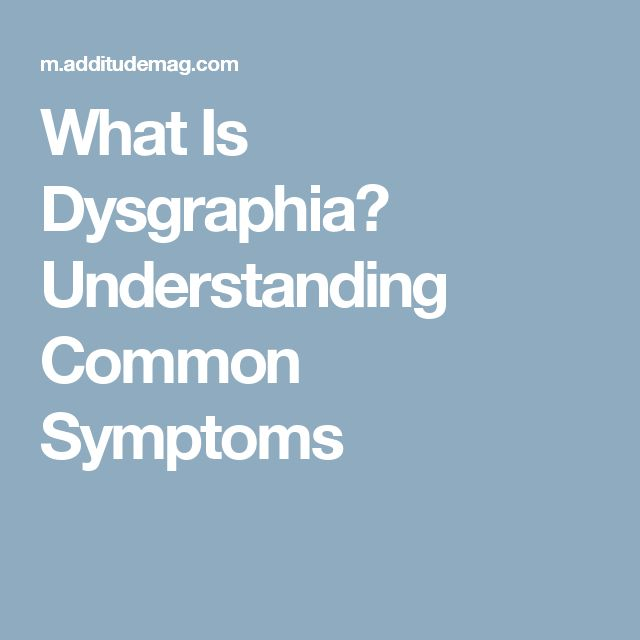 What Is Dysgraphia? Understanding Common Symptoms