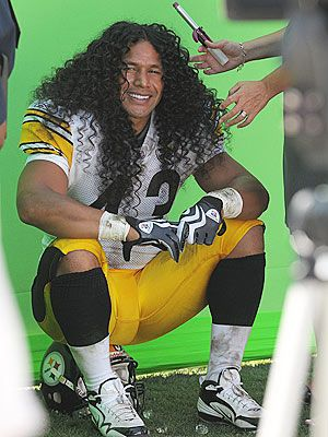 Celebrity: Troy Polamalu #OuidadCurls