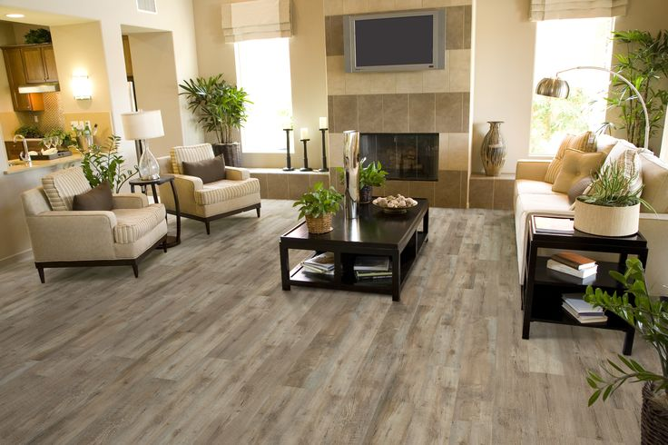 Vinyl planks can create unique hardwood looks. Learn more: http://www.carpetone.com/vinyl-category