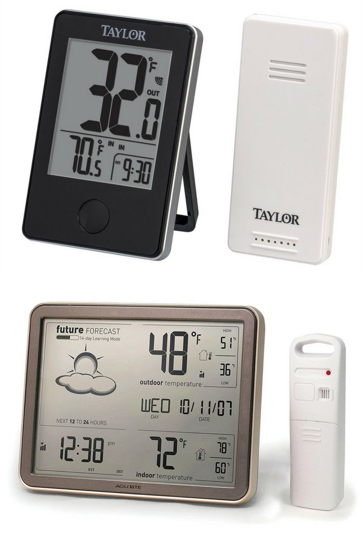 Best Outdoor Thermometers Weather Stations 2021 Outdoor Thermometer Used Outdoor Furniture Outdoor Furniture Makeover