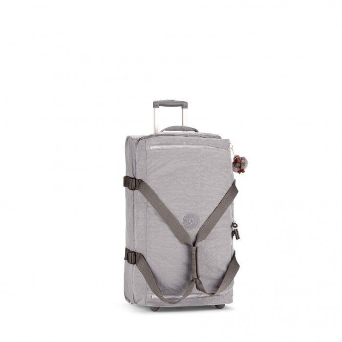 Kipling Basic Wheeled Luggage Teagan M Trolley-Reisetasche Cool Grey C