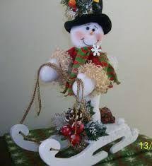 navidad en tela polar