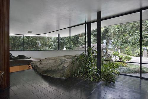 Casa das Canoas Architect: Oscar Niemeyer 1952-53