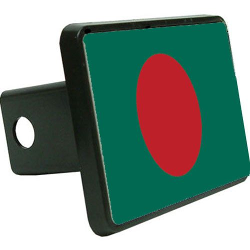 Bangladesh Flag Trailer Hitch Cover