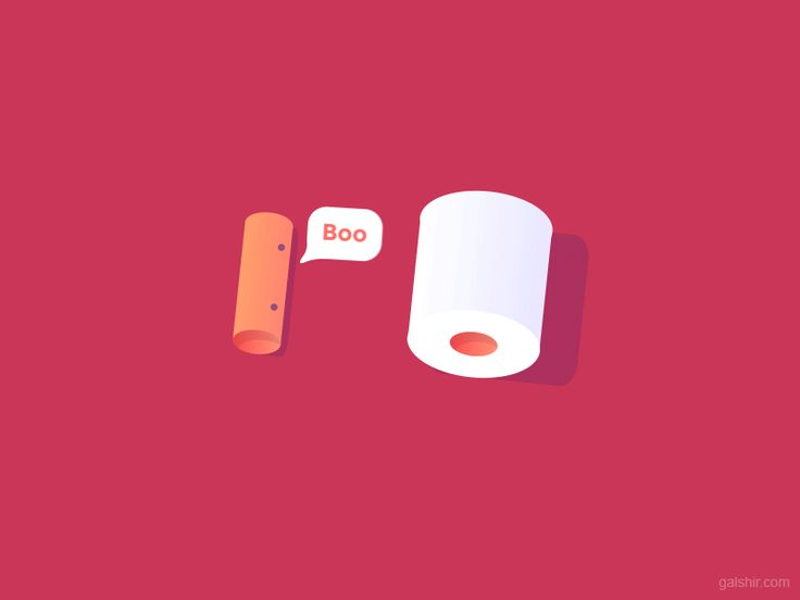 """SINGLE GIF: '""""Toilet Papers"""" byGal ShironNov. 27, 2017.  Facebook 
