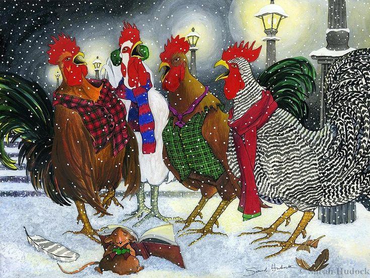 поздравление от курицы с новым годом последнем