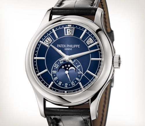 Patek Philippe Complications Ref 5205g 013 White Gold Artistic