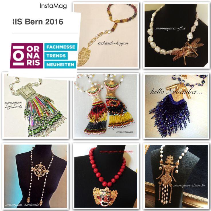"mannaqueen mendapat kehormatan untuk menjadi peserta ""ORNARIS Bern 2016"" untuk mewakili Indonesian Handmade Jewelry Tanggal 14-16 Agustus 2016 di Bern Switzerland..  #Godisgoodallthetime"