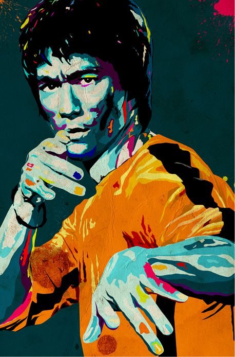 ART: Bruce Lee - The Dragon Immortalized