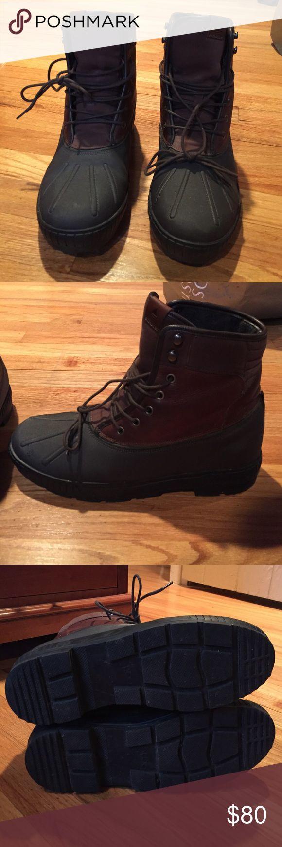 Men's Aldo Boot Waterproof Men's size 11 Aldo waterproof duck boot Aldo Shoes Boots