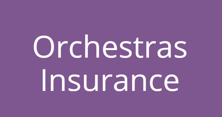 Insurance Specialist for Live Orchestras and Choirs