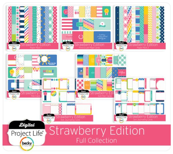 Strawberry Edition Full Collection