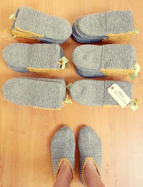 Coziest Wool Slippers – Knitting Pattern