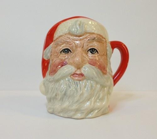 Vtg Royal Doulton Miniature Mini Santa Claus Toby Character Jug Mug D6706 | eBay