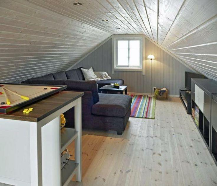 Ombygging loft=