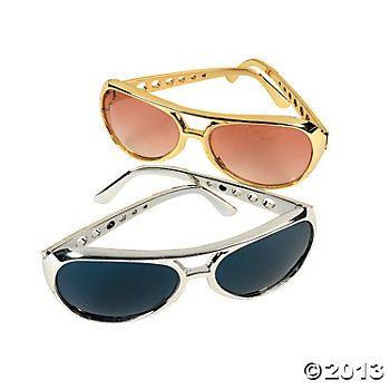 Elvis Sunglasses in Wedding Party Favor Bags $15 per dozen- Las Vegas Wedding