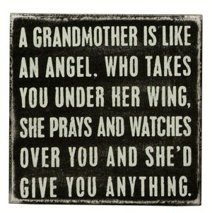 Be a Grandma~an awesome one!