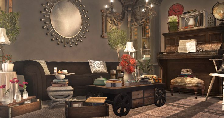 Wedecorthing2 006 second life home garden pinterest for 2nd living room ideas