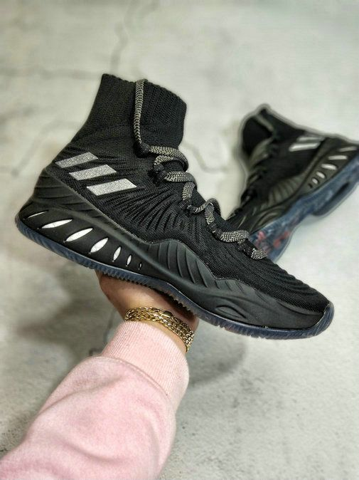 more photos 7992d b43ce adidas Crazy Explosive 2017 Black Silver CNY Chinese New Year Black All  Basketball Shoe For Sale