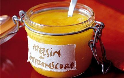 Apelsincurd med saffran | Saffron orange curd