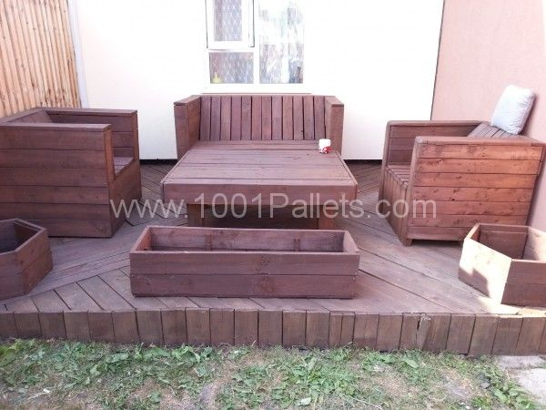My pallet chill zone | 1001 Pallets