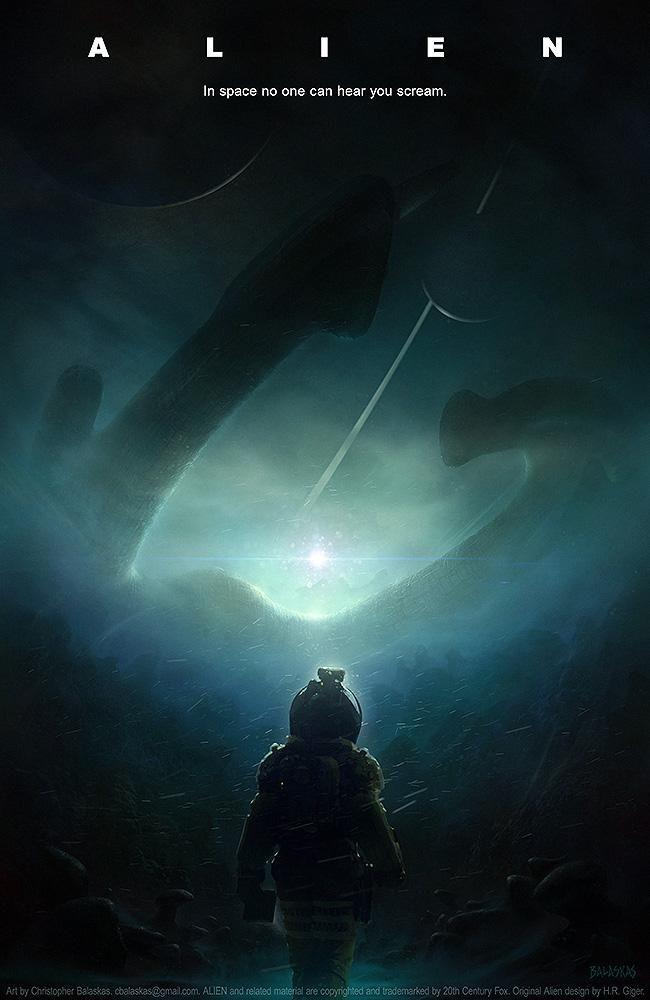 Alien (1979) by Christopher Balaskas HD Wallpaper From ...