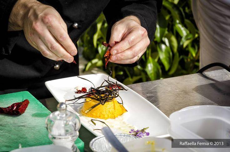 """""""L'Aria nel Piatto"""", show cooking a cura dell'Associazione Chef Lucani. © Raffaella Fermia"""