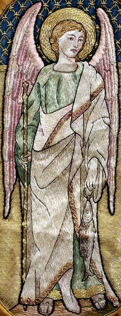 St. Raphael the Archangel Arcángel : Protégeme en los viajes, concedeme sanación física y emocional, ayúdame siempre a aclarar los pensamientos y tomar decisiones importantes.
