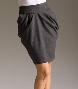 I've found tulip skirts flatters a slim body with a ill tummy pooch like mine