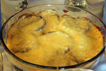 Готовим баклажаны с сыром