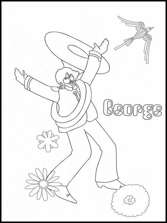 The Beatles 13 Dibujos Faciles Para Dibujar Para Ninos Colorear Dibujos Faciles Para Dibujar Dibujos Beatles