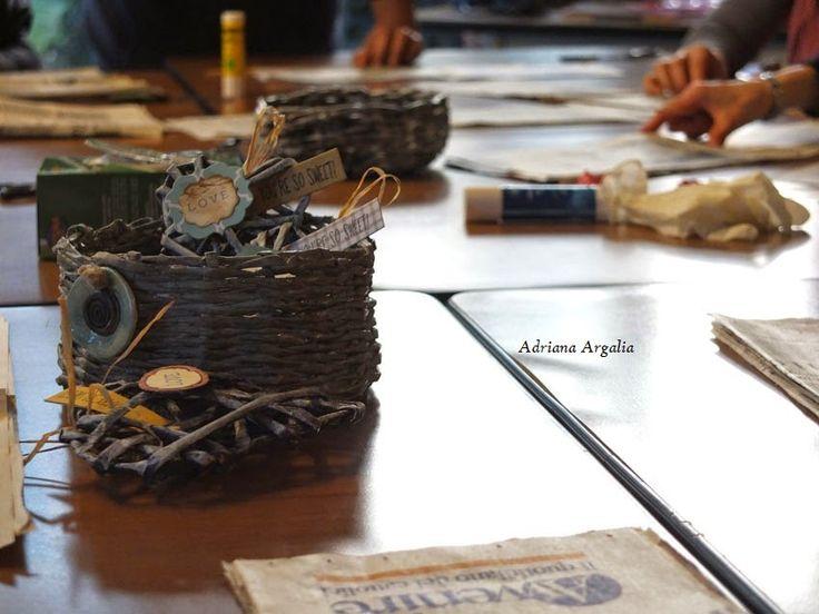 IdeaLab - Laboratorio creativo: Intrecci di carta: Cuori