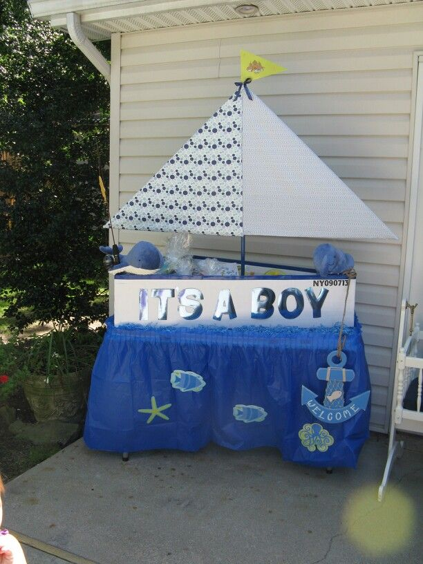 wishing well nautical baby shower pinterest wishing well