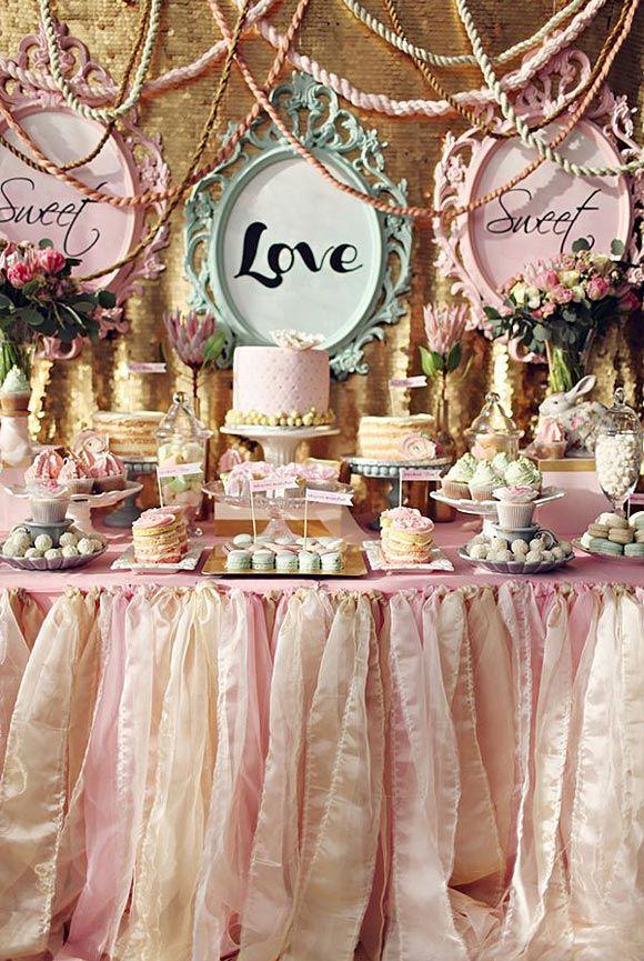 LOVE, LOVE, LOVE – decora tu boda con mucho LOVE