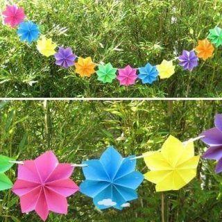 Ideas de adornos para cumpleaños con hula hoop | Manualidades para Cumpleaños