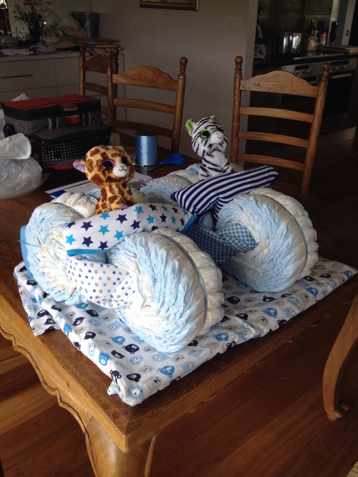 Nappy trikes for twin boys