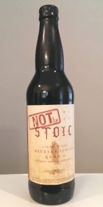 Not The Stoic is a Quadrupel (Quad) style beer brewed by Deschutes Brewery in Bend, OR. 91 out of 100 with 76 reviews, ratings and opinions.