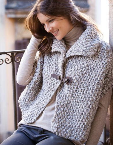 Designs for women by Katia #winter #autumn 2014 / 2015 #naturalgrey #knitting #katiayarns