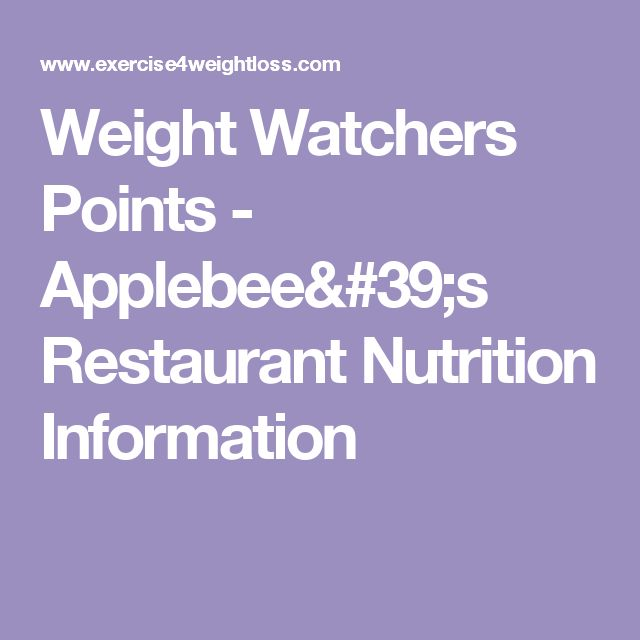 Indian Food Weight Watchers Points Plus