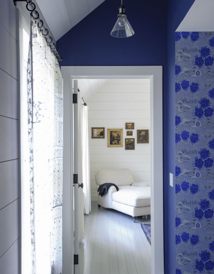 Rhapsody in Blue: A Finnish Stylist at Home in the Hamptons: Remodelista