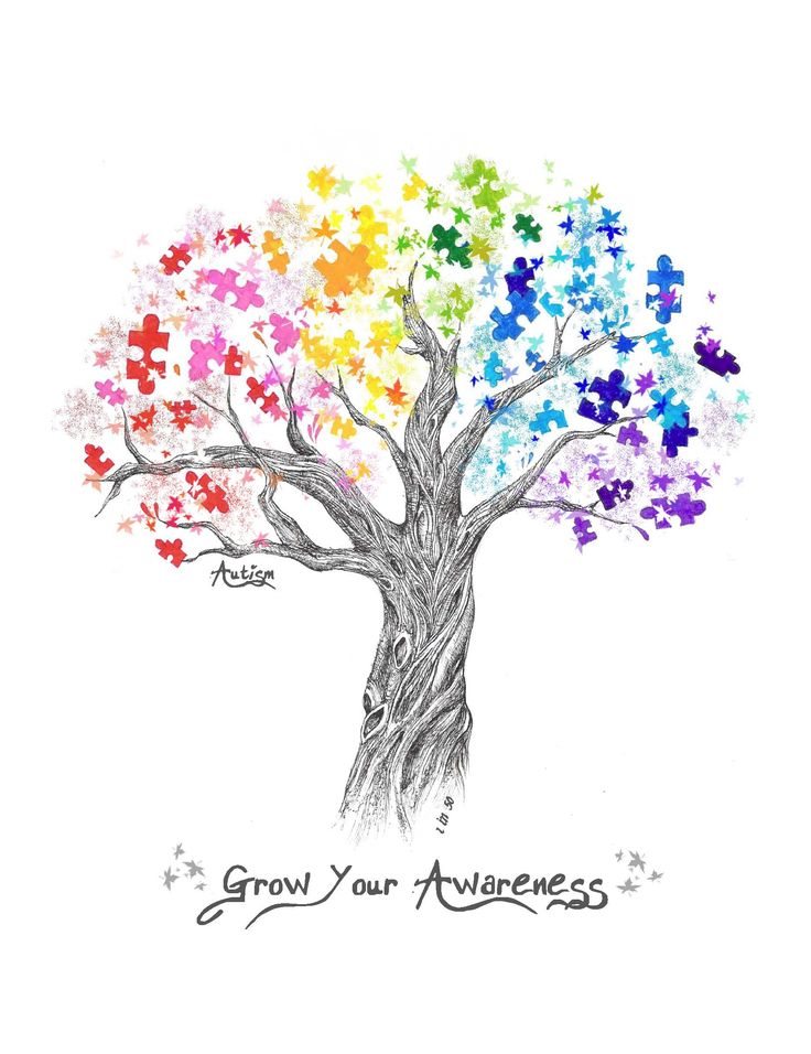 beautiful autism awareness logo Would make a great tattoo!