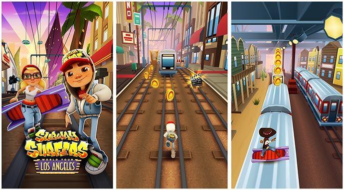 Subway Surfers per Windows Phone 8 si aggiorna e porta il tour a Los Angeles! http://www.sapereweb.it/subway-surfers-per-windows-phone-8-si-aggiorna-e-porta-il-tour-a-los-angeles/ Subway Surfers è un popolare gioco mobile arrivato prima su iOS (totalizzando oltre 25 milioni di download), successivamente su Android e dal mese di dicembre anche su Windows Phone 8.  Questo particolarerunner game nella versione per Windows Phone 8 in queste ore ha ricevuto...