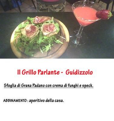 Una delle ricette che ha partecipato al concorso per la creazione dello spuntino più sfizioso al Grana Padano