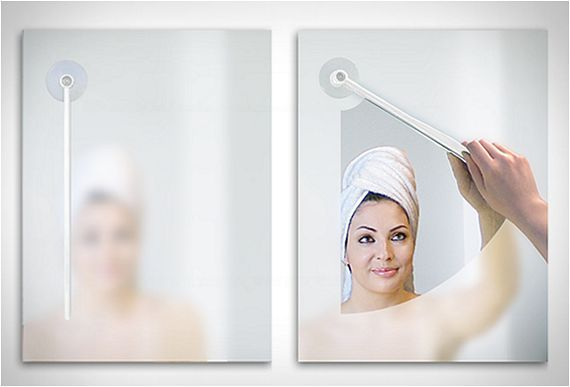 Tired of waiting for your mirror to un-fog after your morning shower?  Wiping it with a towel just isn't doing it?  Mirror Cleaner would be perfect for you!
