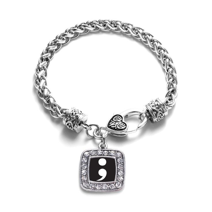 Semicolon Movement Classic Braided Bracelet